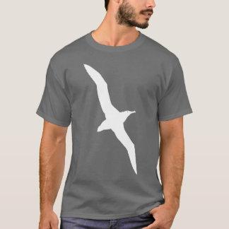 Camiseta Branco do t-shirt do pássaro do albatroz