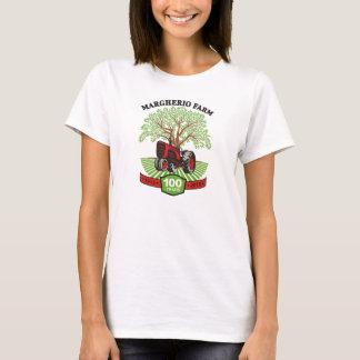 Camiseta Branco do TShirt dos anos Women's-100