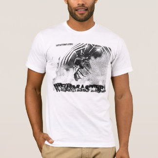 Camiseta Branco do WEBMASTER