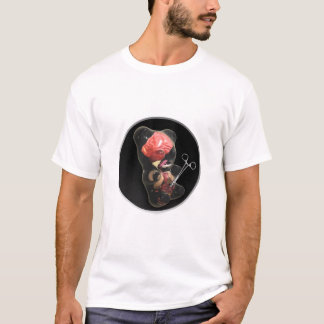 Camiseta Branco imaculado do doce
