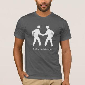 Camiseta Branco no t-shirt preto da zona da redução do