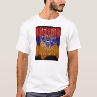 Camiseta Brasão arménia 100 anos de t-shirt mais forte