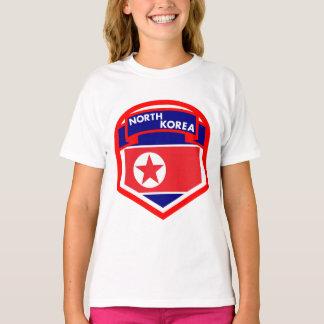 Camiseta Brasão da bandeira da Coreia do Norte