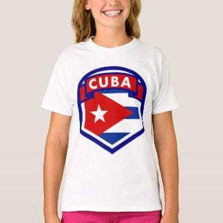 Camiseta Brasão da bandeira de Cuba