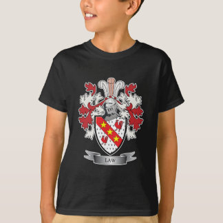 Camiseta Brasão da crista da família da lei