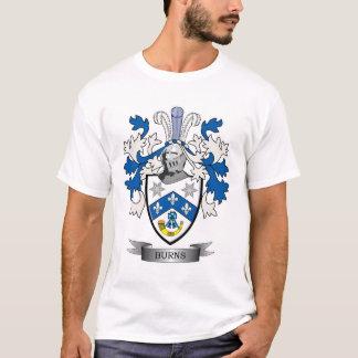 Camiseta Brasão da crista da família das queimaduras