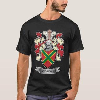 Camiseta Brasão da crista da família de Andrews