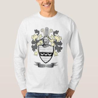 Camiseta Brasão da crista da família de Craig