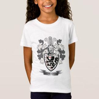 Camiseta Brasão da crista da família de Edwards