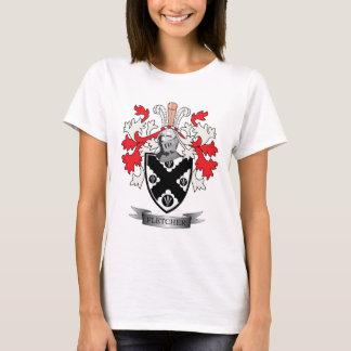Camiseta Brasão da crista da família de Fletcher