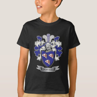 Camiseta Brasão da crista da família de Forbes