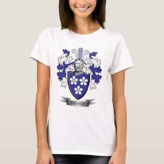 Camiseta Brasão da crista da família de Fraser