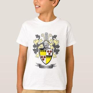 Camiseta Brasão da crista da família de Graham