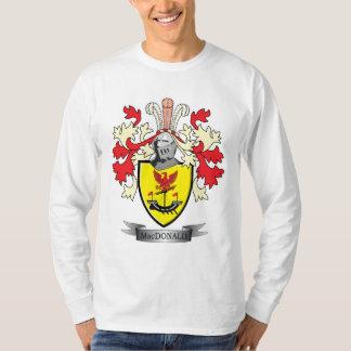 Camiseta Brasão da crista da família de MacDonald