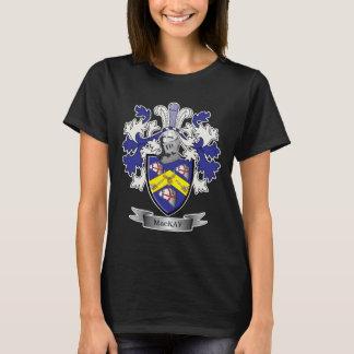 Camiseta Brasão da crista da família de MacKay