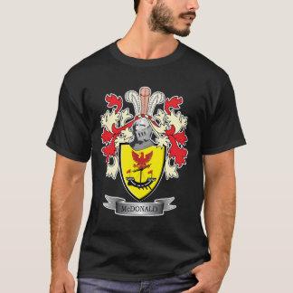 Camiseta Brasão da crista da família de McDonald