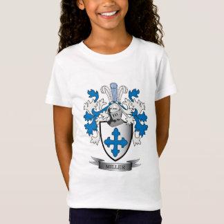 Camiseta Brasão da crista da família de Miller