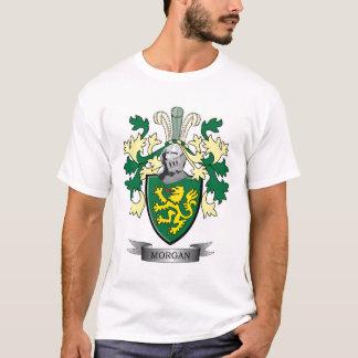 Camiseta Brasão da crista da família de Morgan