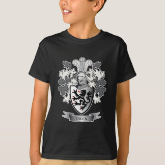 Camiseta Brasão da crista da família de Owen