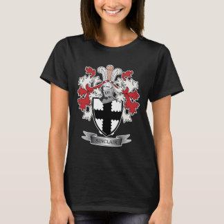 Camiseta Brasão da crista da família de Sinclair