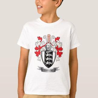 Camiseta Brasão da crista da família de Taylor