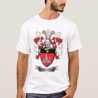 Camiseta Brasão da crista da família de Templeton