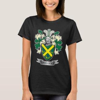 Camiseta Brasão da crista da família do Pollock