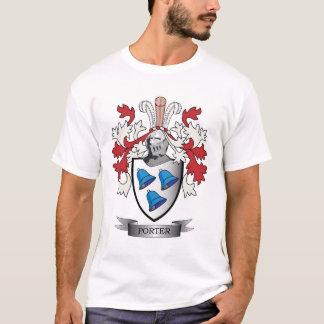 Camiseta Brasão da crista da família do porteiro