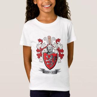 Camiseta Brasão da crista da família do preço