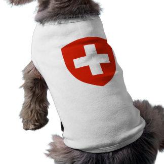 Camiseta Brasão da suiça