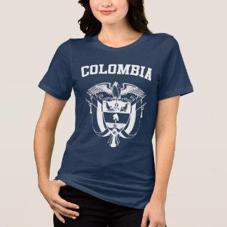 Camiseta Brasão de Colômbia