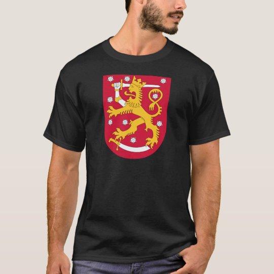 Camiseta Brasão de Finlandia - Suomen Vaakuna