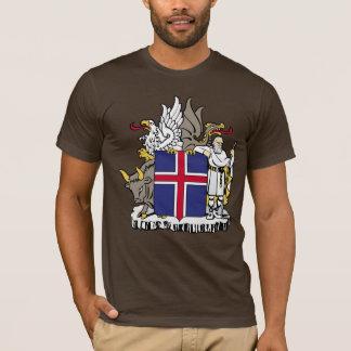 Camiseta Brasão de Islândia
