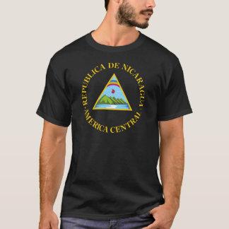 Camiseta Brasão de Nicarágua
