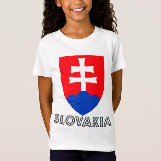 Camiseta Brasão de Slovakia