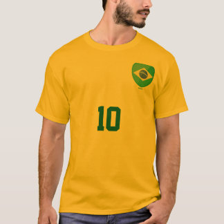 Camiseta Brasil 10