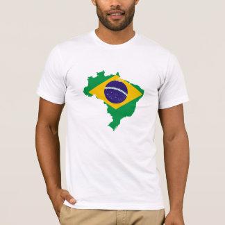 Camiseta Brasil para homens