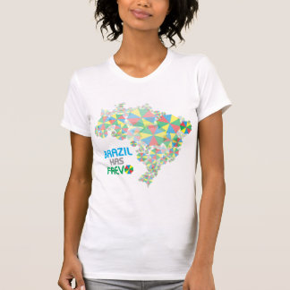 Camiseta Brasil tem Frevo