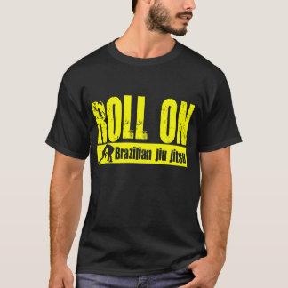 Camiseta Brasileiro Jiu JItsu - rolo no t-shirt