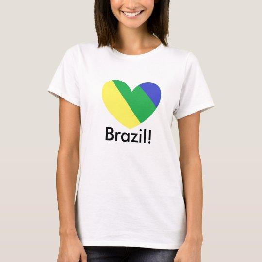 Camiseta brazil, Brasil!
