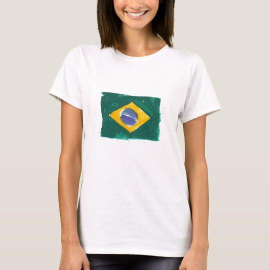 Camiseta Brazilian flag