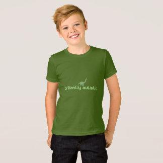 Camiseta Brilhante autístico