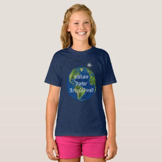 Camiseta Brilhe seu mais brilhante