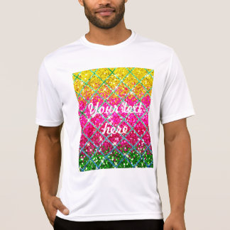 Camiseta Brilho Snakeskin cor-de-rosa