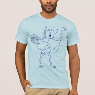 Camiseta Brinde que monta uma avestruz