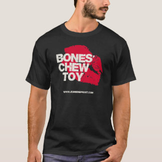 Camiseta Brinquedo da mastigação dos ossos
