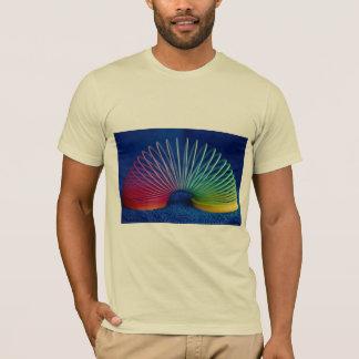 Camiseta brinquedo furtivo Arco-íris-colorido