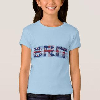 Camiseta Británico, estilo de Union Jack