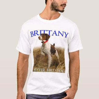 Camiseta Brittany - um t-shirt dos melhores homens do cão