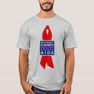 Camiseta Broadway importa-se o AIDS